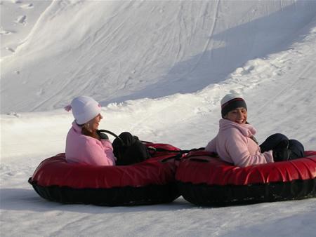 Tube Slide Ski Sawmill Family Resort